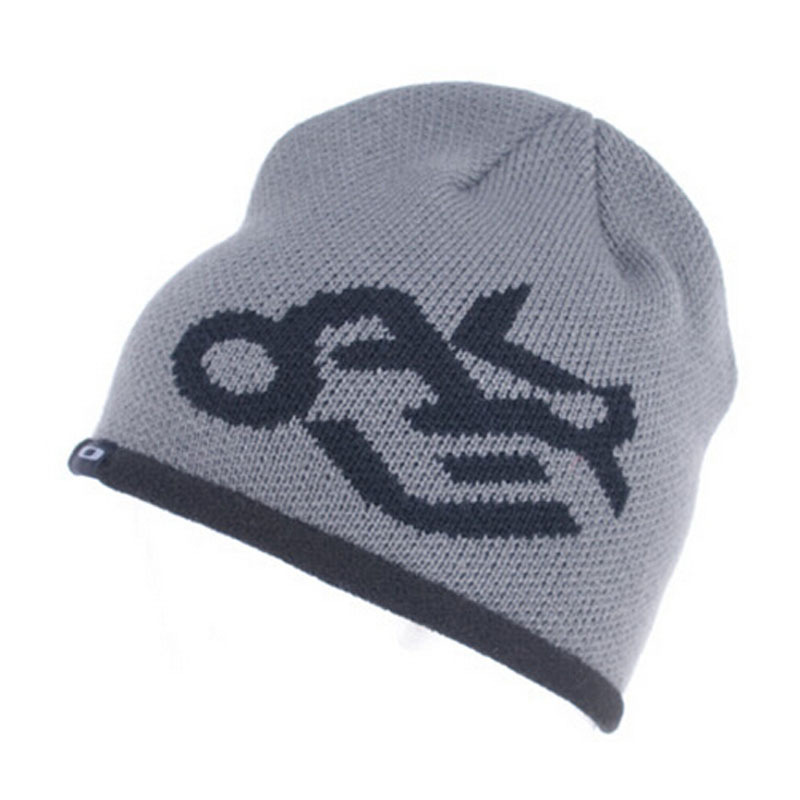 17f7e072d8f Get Quotations · New Skiing Hats Warm Winter Knitted Reversible beanie Hat  For Man Women Beanies Turtleneck Caps Bonnet
