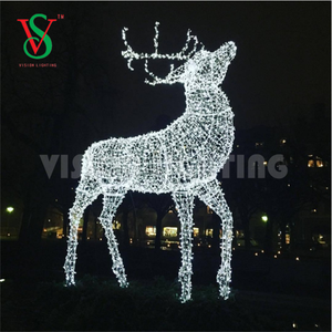large outdoor reindeer christmas decorations large outdoor reindeer christmas decorations suppliers and manufacturers at alibabacom - Christmas Reindeer Decorations Outdoor