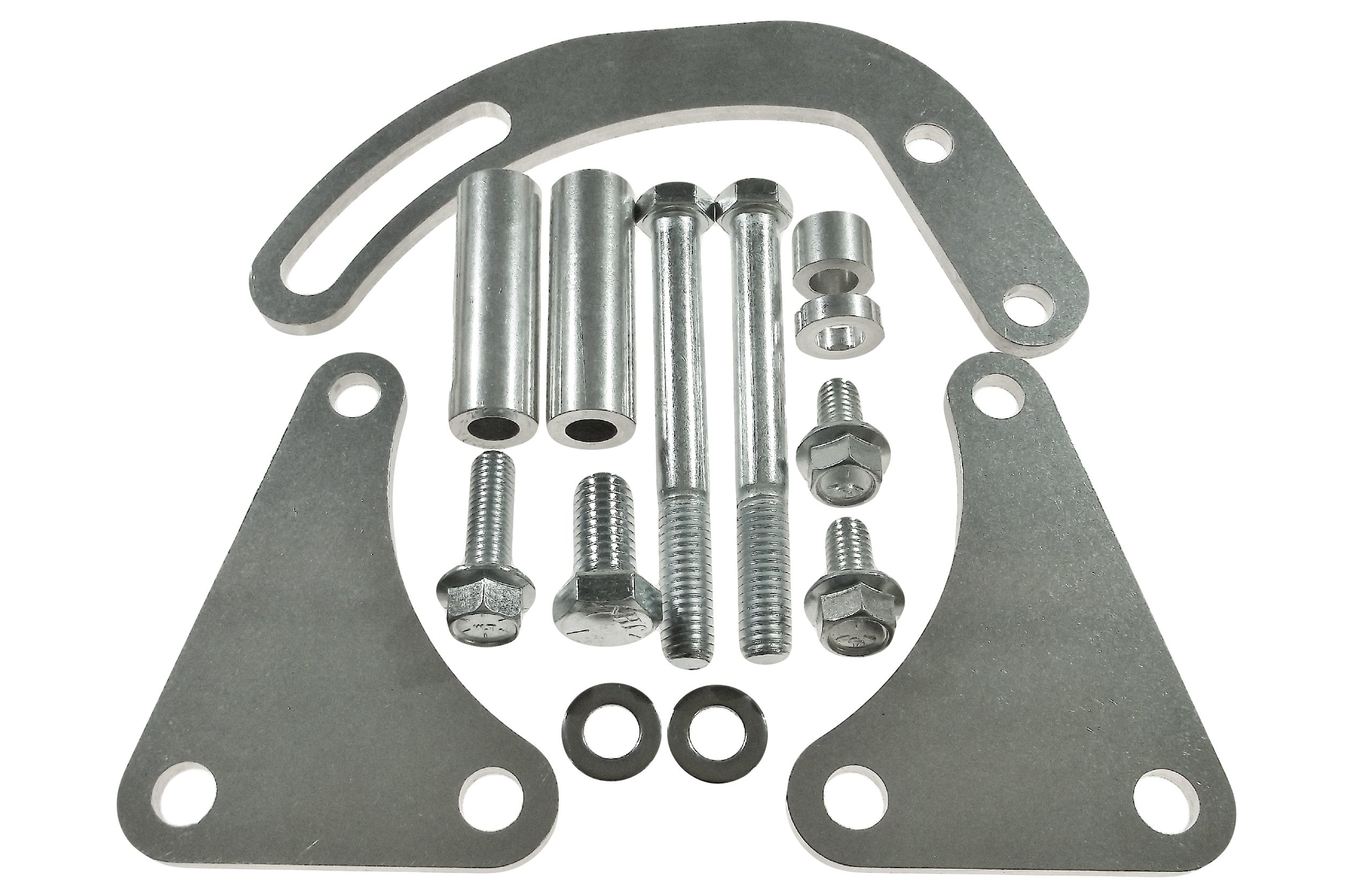 Cheap Power Steering Pump Bracket Find Bolt Conversion Kit Get Quotations Bbc Billet Adjustable Lwp 454 Big Block Chevy 551497
