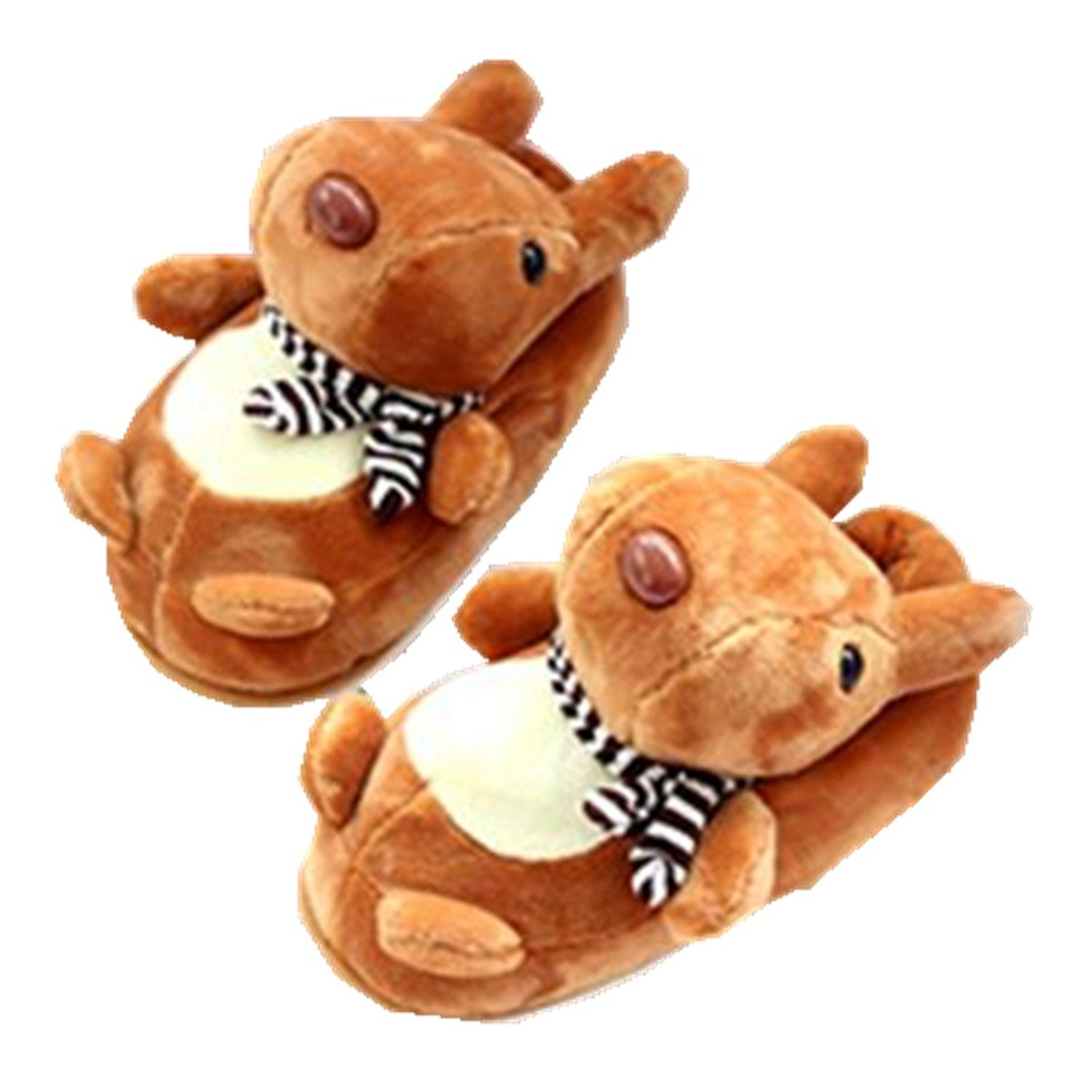 7625a259048 Get Quotations · Rabbit Supermarket Cute squirrel slippers