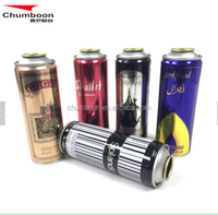 professional spray container Body spray perfume aerosol tin can from Chumboon