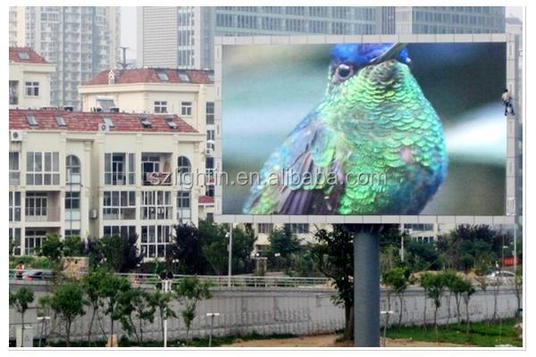Electronics Project P8 Advertising Outdoor Fixed LED Display Cabinet