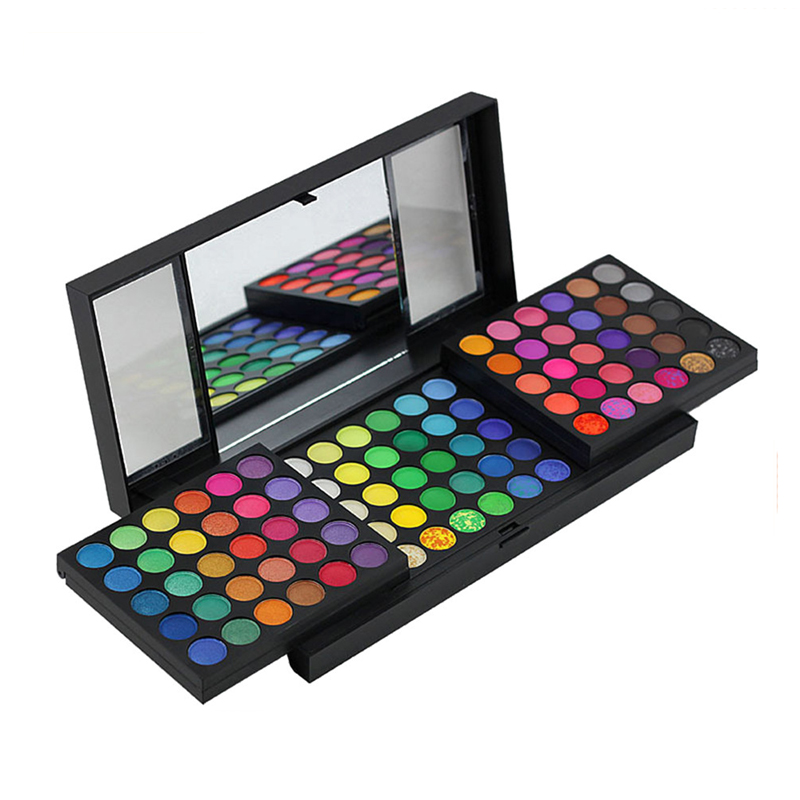 Professional Cosmetics Products 180 Color Makeup Kit Waterproof eyeshadow palette private label