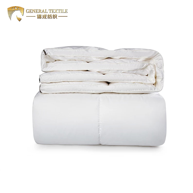 Luxury cotton dowm proof fabric Quilt Double Size Luxurious Super Soft 90% White Duck Feather & Down Duvet