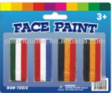 flag face paint stick,football fans face paint
