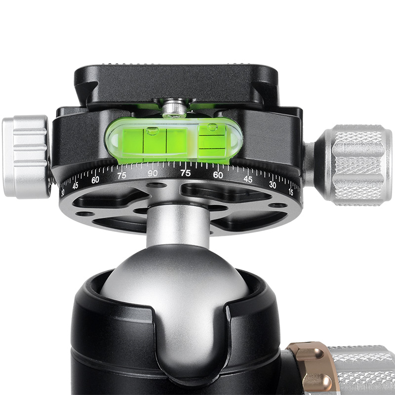 XILETU PA-2C36 High Quality Professional DSLR Video Camera Tripod Carbon Fiber Retractable tripod tubes with metal spikes suit