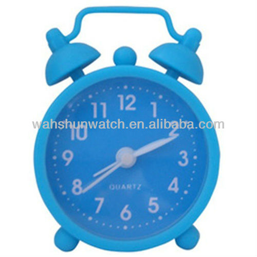 Christmas gift pretty quartz table 3d clock alarm