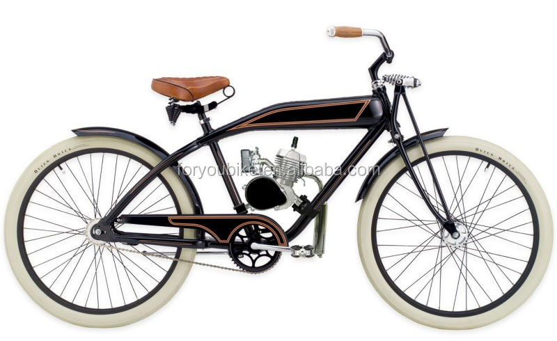 26 Inch Aluminium Gas Motor Bike Gasoline Bike Moto Beach Cruiser ...
