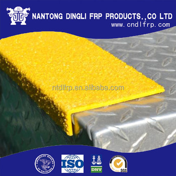 Anti Slip FRP GRP Fiberglass Stair Tread Cover