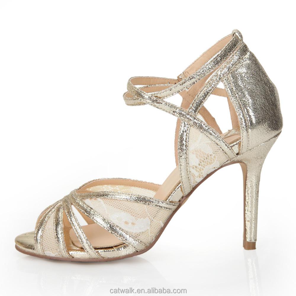 Light Gold High Heels