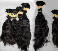 natural drawn and double drawn unprocessed virgin remy indian temple donor hair bulk