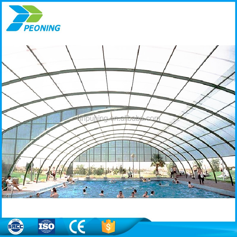 waterproof uv lexan polycarbonate sheet swimming pool cover