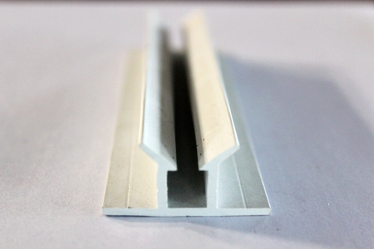 Plastic u channel extrusions glass edge protection buy