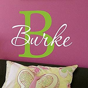 Get Quotations Wall Decal Decor Custom Name Vinyl Nursery Sticker Word Letters Removable