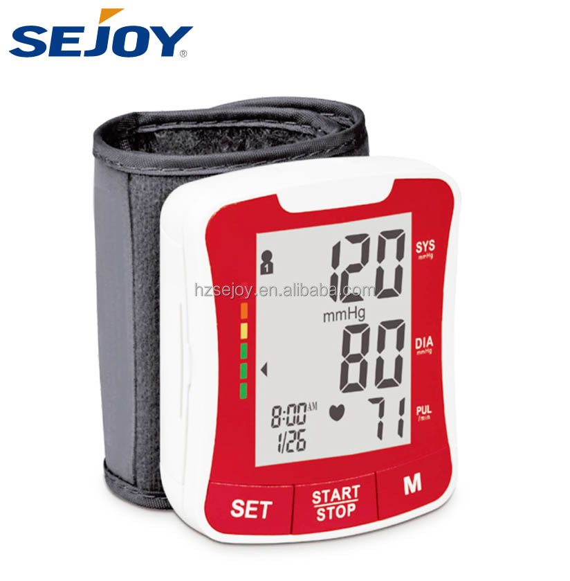 Watch Wireless Testing Equipment Blood Pressure Sensor Monitor Meter