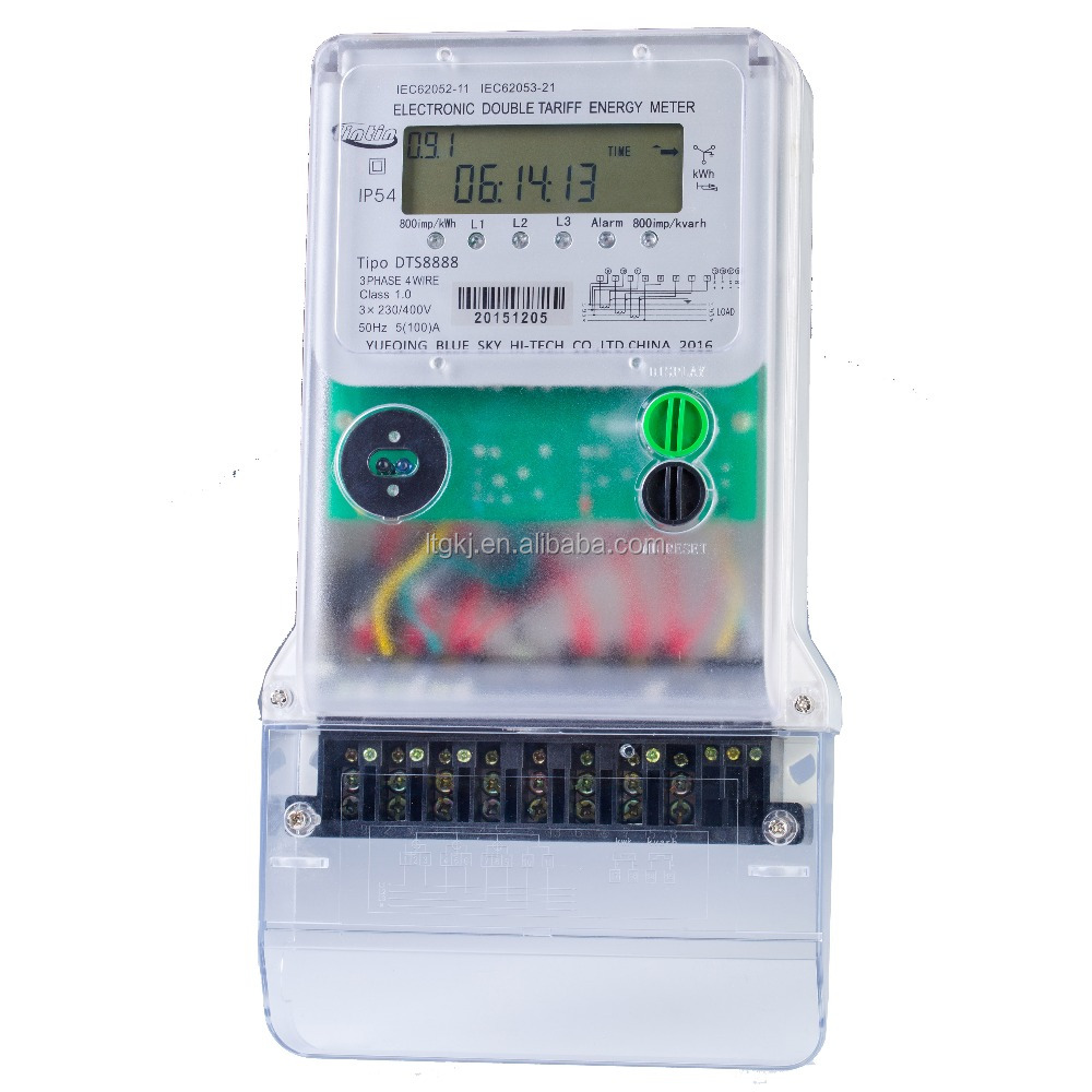 Three-phase electronic Solid-state kWh Meter/energy meter