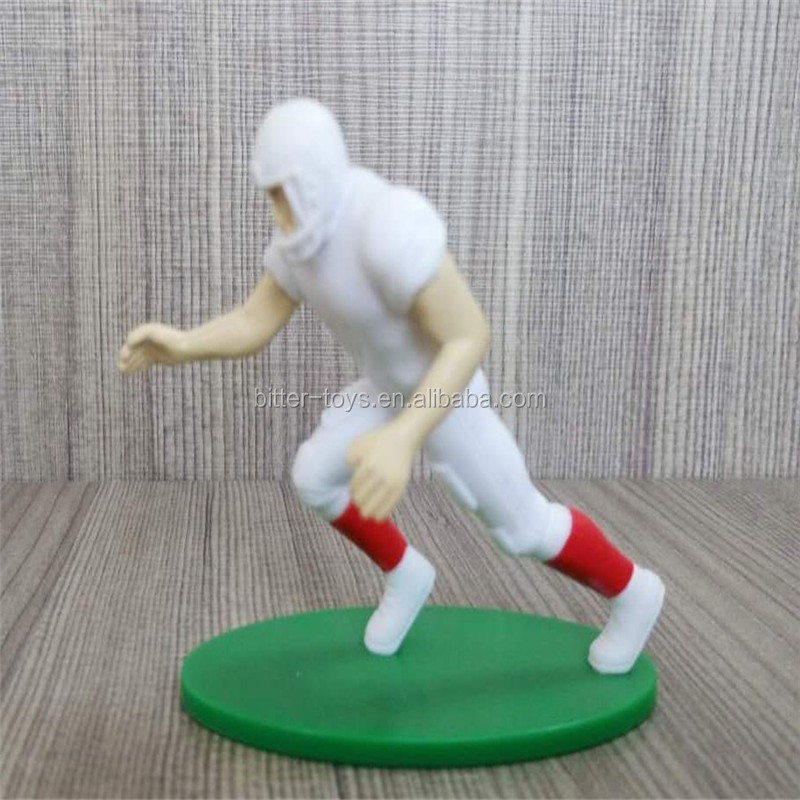 custom-made PVC plastic 3D sports man model figure toy action figure toys model toys