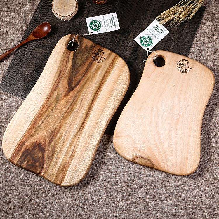 Camphor wood chopping board cutting board set