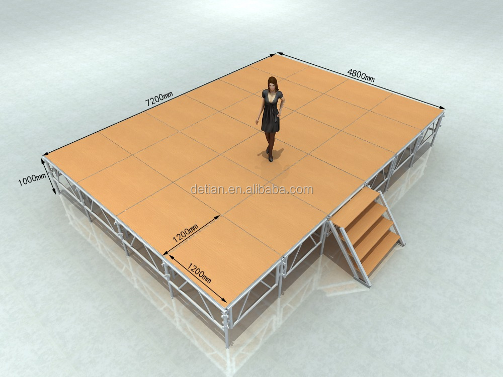 Aluminum truss tent stage shanghai exhibition booth construction