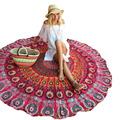 2016 Bohemia Print Multi Function Circular Mat Round National Style Yoga Mat Outdoor Blanket Camping Mat