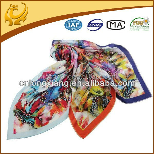ODM custom real material wedding shawls kurti scarfs