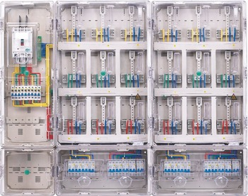 Custom Waterproof Plastic Control Panel Box Outdoor Electric Meter