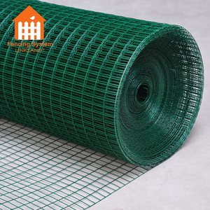 2X2 Galvanized Pvc Coated Welded Wire Mesh in Roll