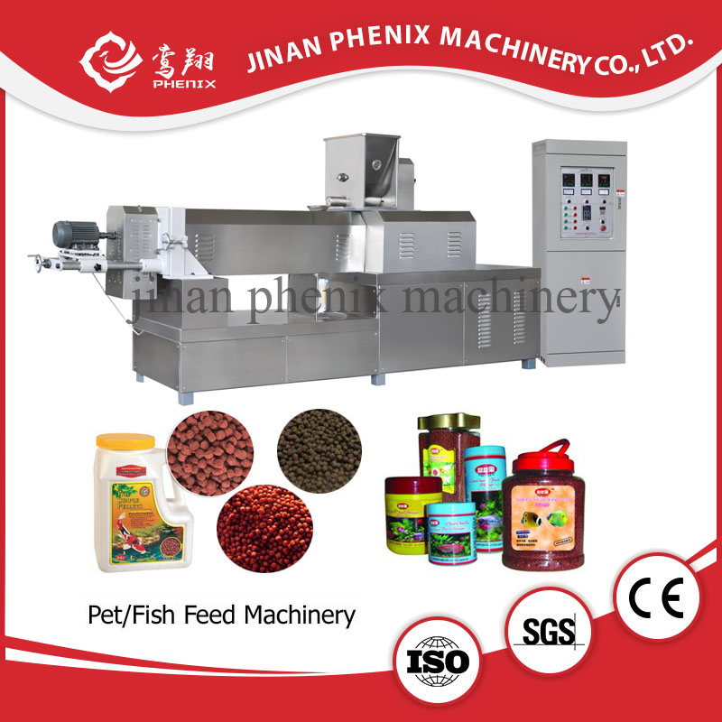Hot sale floating fish feed extruder processing machine line