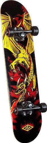 Powell Golden Dragon Flying Dragon 2 Complete Skateboard