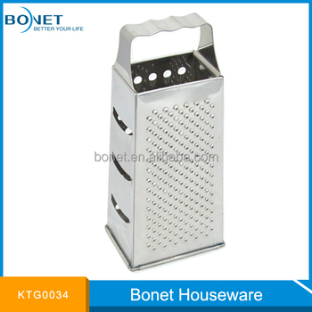 KTG0034 Wave Shape Anti-slide Handle Box Grater