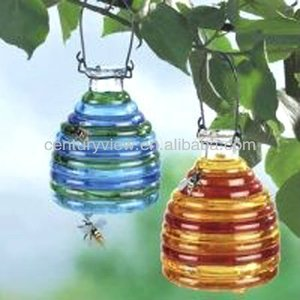 New design glass wasp catcher/ fly trap catcher /glass fly catcher
