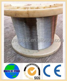 EN 316L soap-coating strapping brush soft stainless steel spring wire