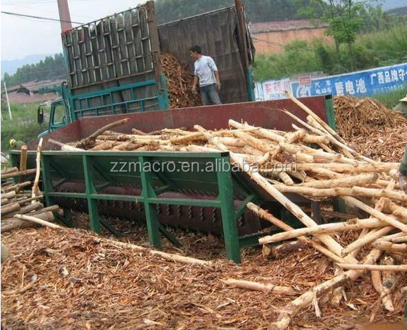 Tree Skin Remove Machine Tree Bark Peeler Machine / Wood Skin Peel Machine
