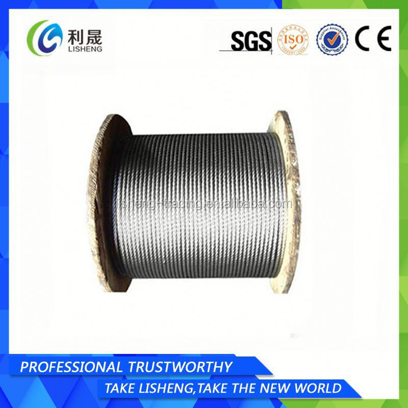 8x19s+Fc Linear Contact Lay Steel Wire Rope