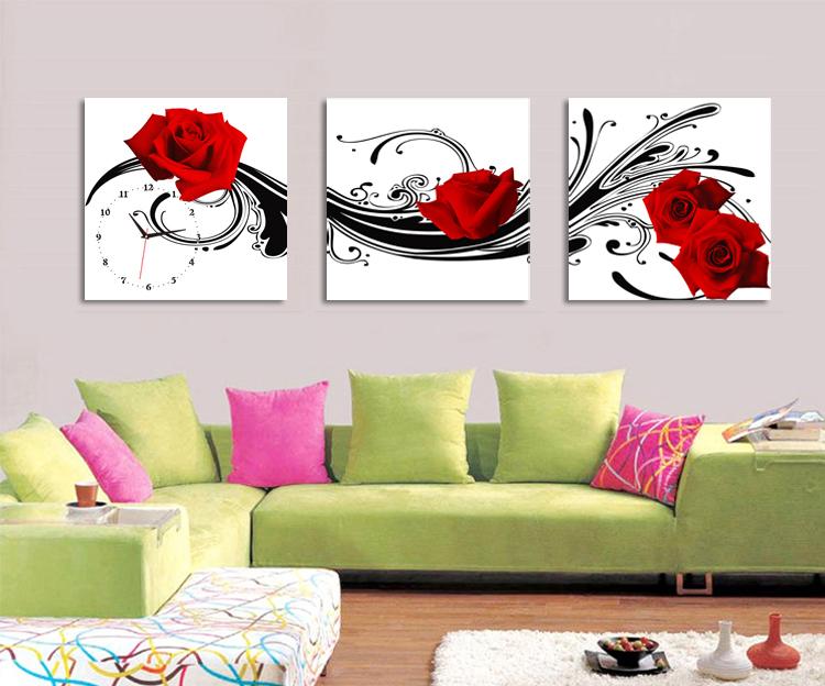 toile decorative murale maison design. Black Bedroom Furniture Sets. Home Design Ideas