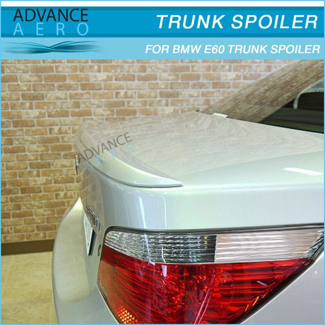 CARBON FIBER TRUNK SPOILER FOR 2004 2005 2006 2007 2008 2009 2010 BMW 5 SERIES E60 4 DOOR SEDAN