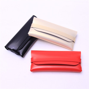 Wholesale Fashion Custom Logo Luxury Leather Sunglasses Case