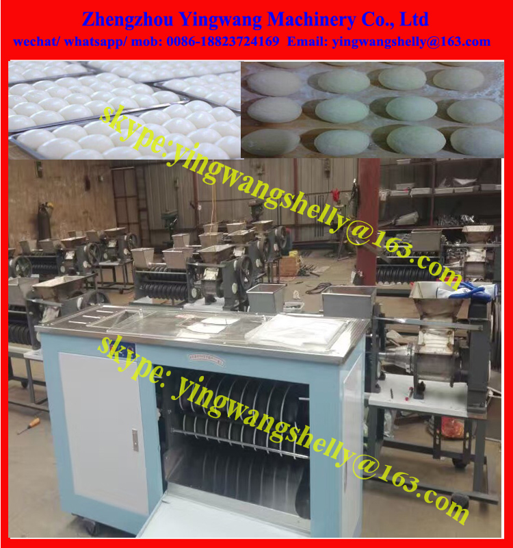 Full Automatic round shape Steamed bread round dough ball making machine