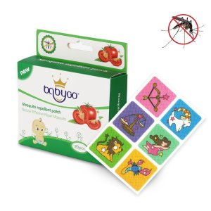 Self adhesive non-woven fabric mosquito repellent patch for baby with essential