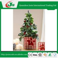 Flower pot with Christma tree decoration