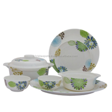 Round Family Set - Naturally Green - 32 Pcs