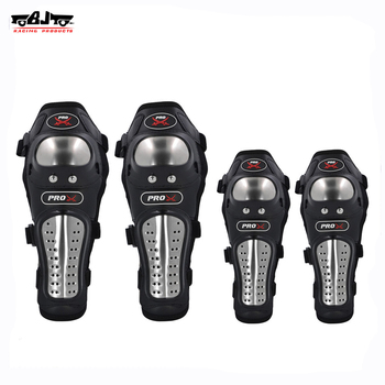BJ-HX-P15 Motorcycle Elbow Knee guard Stainless Steel Kneepad Racing Gear Protector