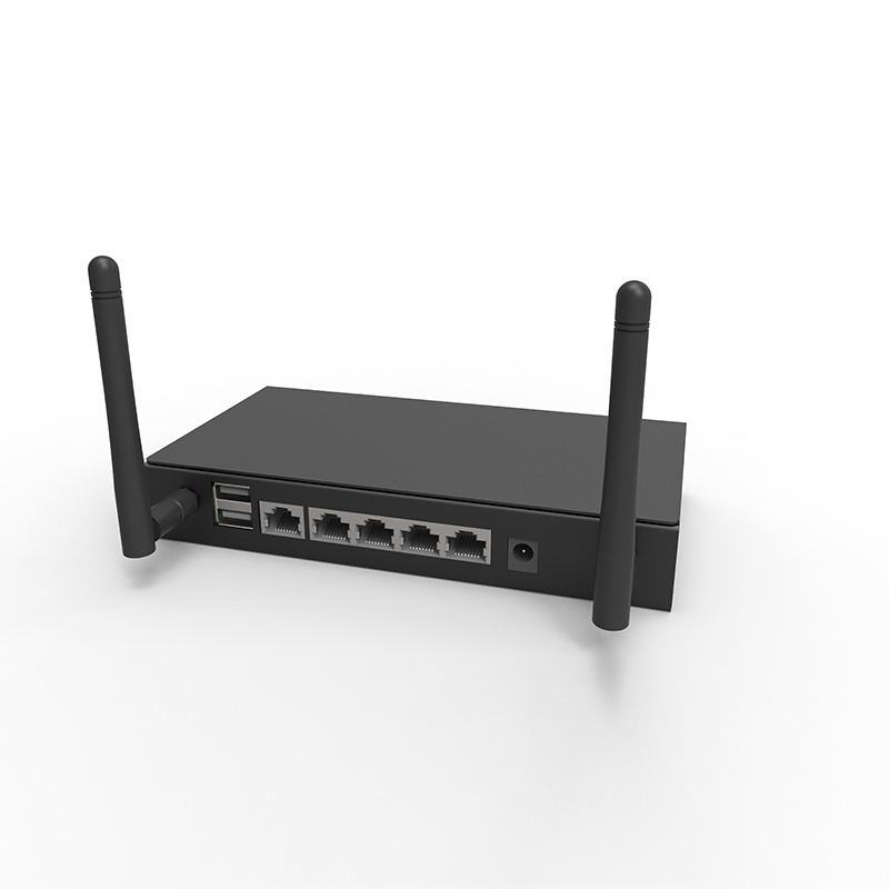 High power dual Sim Card Slot router Openwrt 3G 4G Lte Bus Ac 5 Port Wifi Hotspot Router
