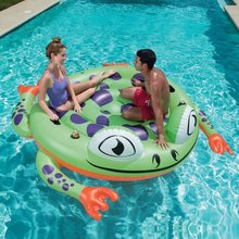 Giant Pool Float Inflatable Frog Shape Float Lounger
