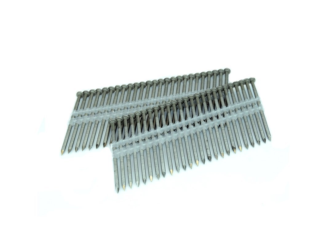 "SPOTNAILS 31 - 34 Degree Paper Tape Framing Nails 3"" X .131, Bright (2,500 per case)"