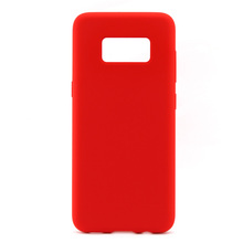 2017 New Liquid Silicone Rubber Mobile Phone Case for Samsung S8 Original Back Cover Cases