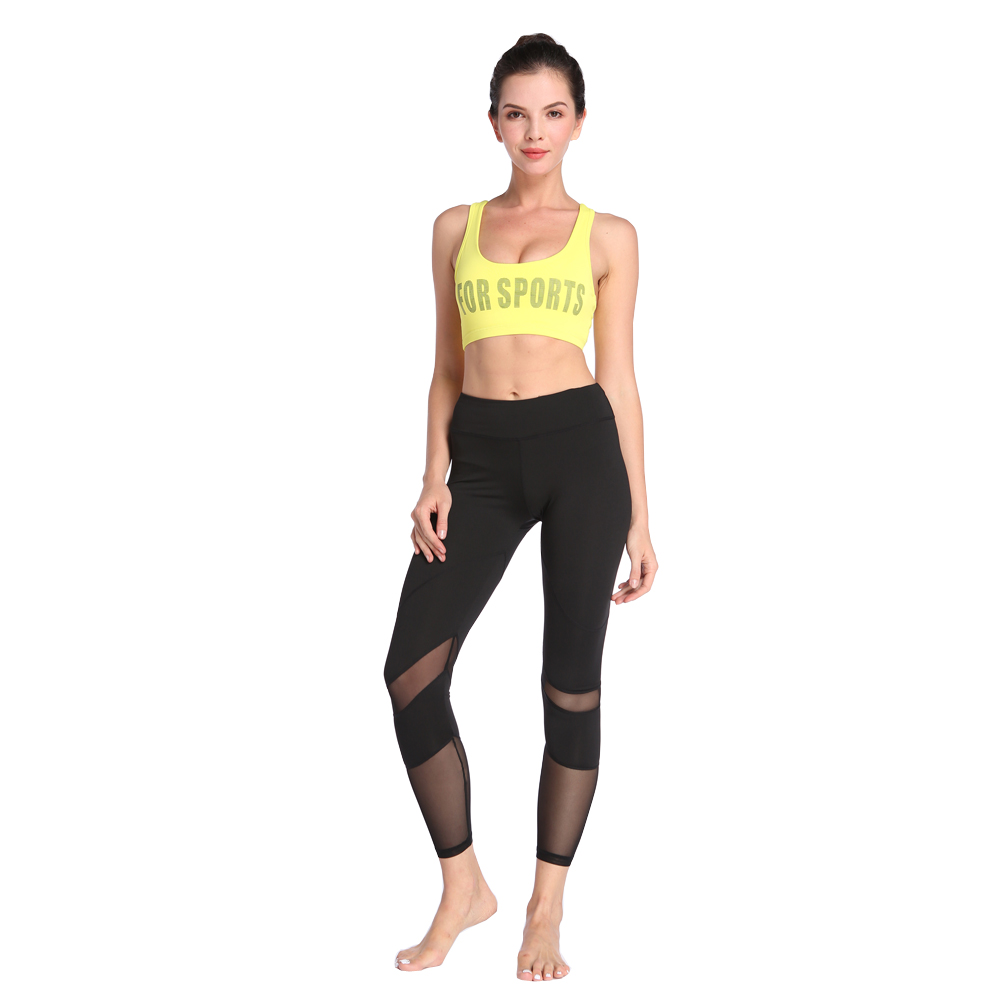 Elastic Sports GYM Running Fitness Dance Tight Leggings Women Yoga Pants