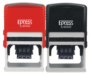 custom date plastic stamp self inking automatic date stampers