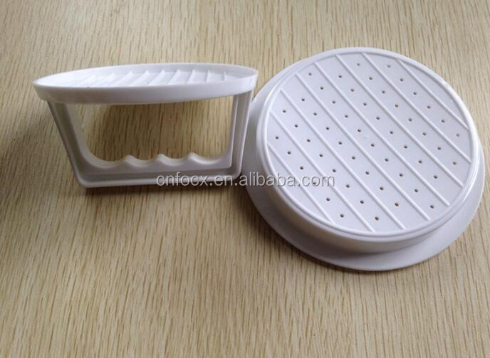 1 Set DIY Hamburger Meat Press / Meat Burger Maker Mold / Plastic Hamburger Press Burger Maker Barbecue