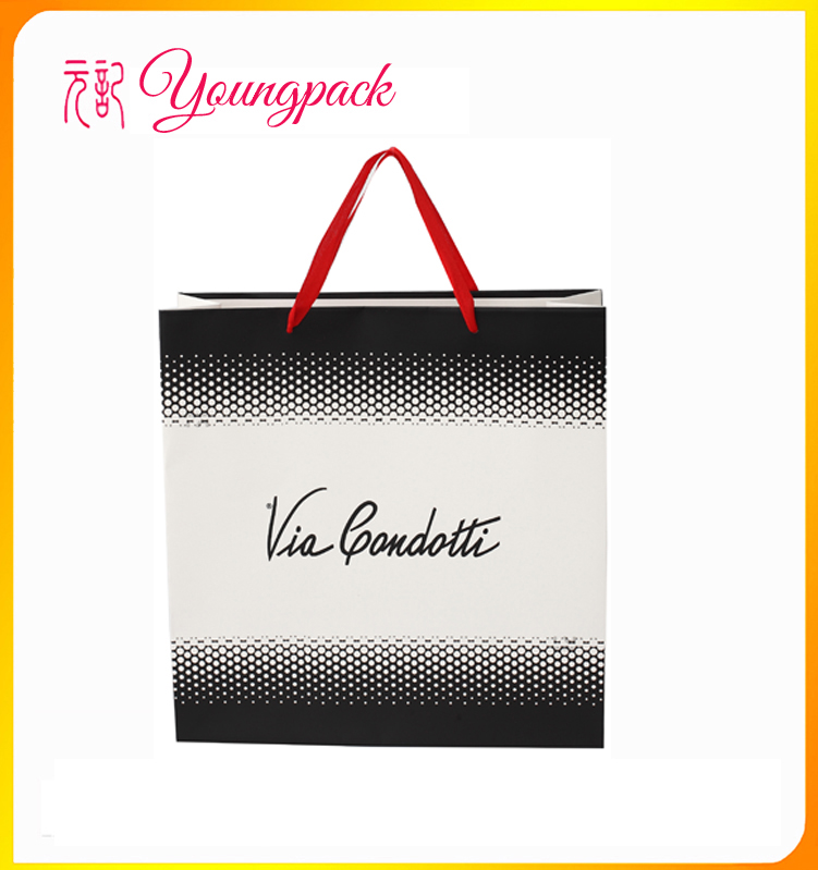 2016 high quality customize paper carry bag